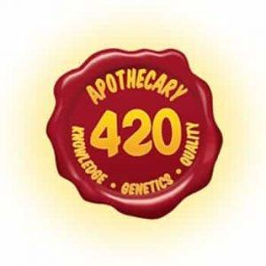Apothecary 420 Dispensary Logo