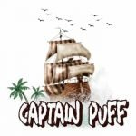 Captain Puff Delivery Logo