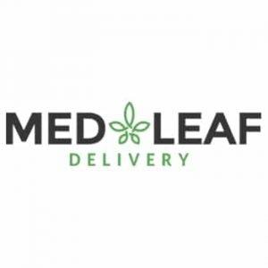 MedLeaf Delivery Logo