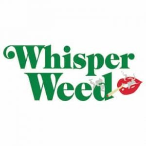 Whisper Weed Delivery Logo