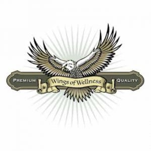 Wings of Wellness Delivery Logo