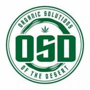 Organic Solutions of the Desert Dispensary Logo